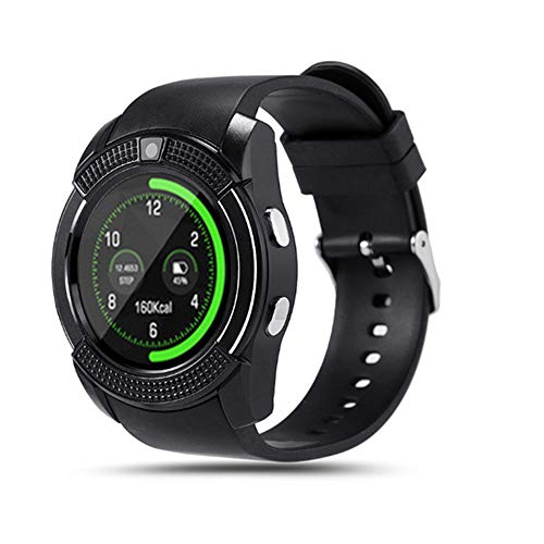 HM2 Bluetooth Sport männer smart Watch Antwort anruf dial smartwatch SIM Karte Kamera herzfrequenz Fitness Tracker smart Watch,Black