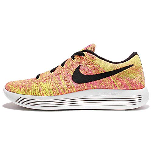 Nike Damen WMNS Lunarepic Low Flyknit oc Laufschuhe, schwarz Multi Color Multi Color, 40.5 EU