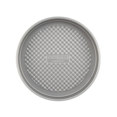 Cake Boss Professional Nonstick Bakeware 3-Piece Round Cake Pan Set, Silver
