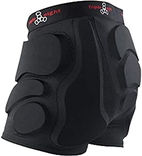 Triple 8 Roller Derby Bumsaver Black Hip Pads - X-Small