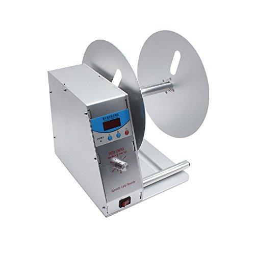 Led-automatische etikettenwikkelaar, 115 mm, labelrewinder, 220 V, 50 Hz, barcode-printer, sticker, machine, snelheid instelbaar