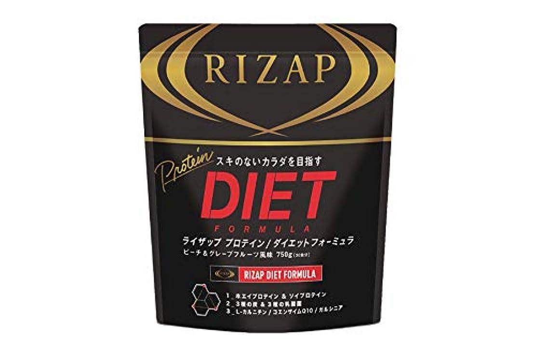 水差し移動するドロップRIZAP ライザップ プロテイン フォーミュラ 30食 1袋 (ピーチ&グレープフルーツ)