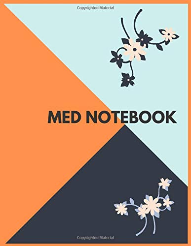 med notebook: Premium Giant Lined Notebook   Journal 120 Pages 8.5 x 11 for Business