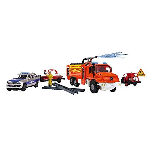 Dickie Toys - 203826004 - Véhicule d'urgence Kit - Radiocommane - Echelle 1/43