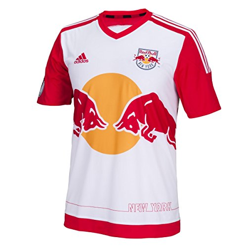 MLS New York Red Bulls Men's Replica Short Sleeve Jersey, X-Large, Red