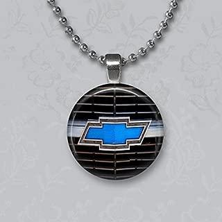 chevy emblem necklace