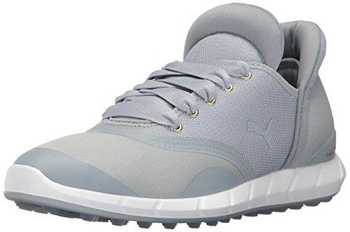 PUMA Ignite Statement Chaussures de Golf pour Femme - Gris - Abat-Jour Silencieux Gris Violet, 36 EU