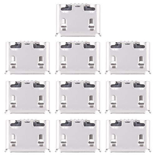 ZHANGLI Piezas de Conector de Cola 10 PCS Conector de Puerto de Carga para Huawei Y635 Conector de Cola