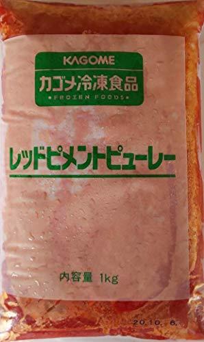 レッドピメント ピューレ 1kg×2P 業務用 冷凍 赤 ピーマン パプリカ ペースト ピューレ