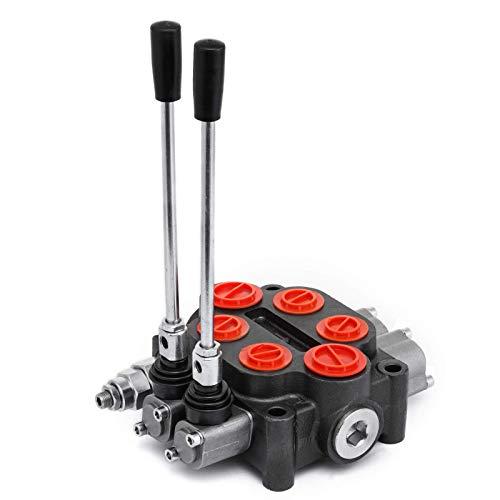 Küchenks 5 Spulenhydraulisches Wegeventil 11gpm doppeltwirkender Zylinder für Traktoren Traktoren Lader Holzspalter
