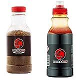 Set Blackfire Buchenholzteer 1,5kg (3X 500g) und Spezial Salz 1,5 Kg (3X 500g)