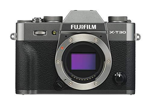 FUJIFILM ミラーレス一眼カメラ X-T30ボディ チャコールシルバー X-T30-CS