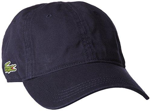 Lacoste Men's Classic Gabardine Cap, Navy Blue, One Size