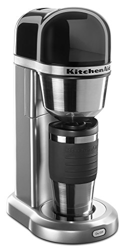 KitchenAid KCM0402OB Personal Coffee Maker - Onyx Black