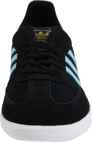 adidas OriginalsSamba Suede-M - gamuza (Samba Suede-m) Hombres , negro (negro, blanco, azul (Black/Argentina Blue/White)), 11 D(M) US