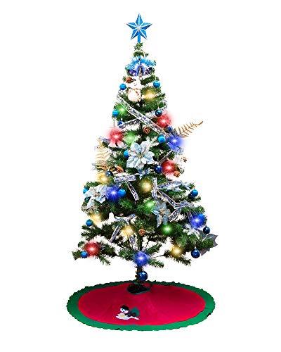 クリスマスツリー セット 180cm オーナメント 15点セット 飾り付き