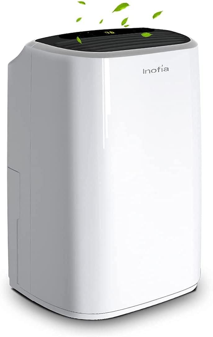 Inofia 30 Pints Dehumidifiers for Home Basements
