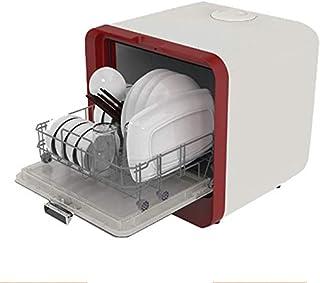 GJJSZ Lavavajillas de sobremesa,lavavajillas multifunción para Frutas y Verduras,Lavado rápido de 30 Minutos,Cuatro Funciones,fácil de Instalar,Capacidad de Comida de 4 Unidades