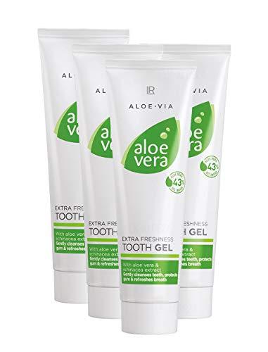 LR Aloe via Aloe Vera Extra Fraicheur Gel dentaire (4x 100ml)