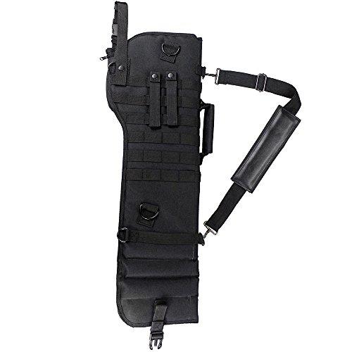 DECHO-C Gewehr Lang Tragen Rucksack Taktische Pistole Scheide MOLLE Gewehrriemen Tasche Für Jagd CS Airsoft