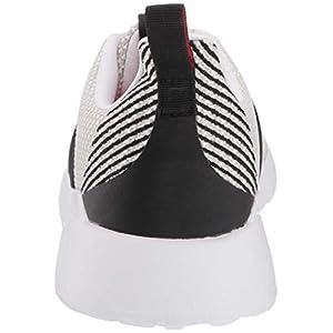 adidas mens Questar Flow road running shoes, White/Black/Raw White, 10.5 US