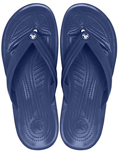 Crocs Crocband Flip, Unisex Zehentrenner, Blau - 5