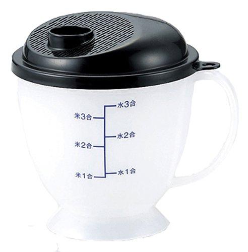 カクセ-『銀イオンAg+ 備長炭入 水流式米とぎ器 ニューつめたく米』