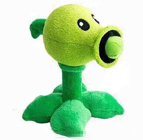 Boufery Pea Shooter Plants vs Zombies Peluches Muñecas, Juego Suave Juguetes para niños para niños Regalo de cumpleaños de 30 cm