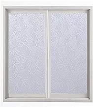 Waterproof PVC Frosted Glass Window Privacy Film Sticker Bedroom Bathroom Self adhesive Film Home Decorative Film Mayitr