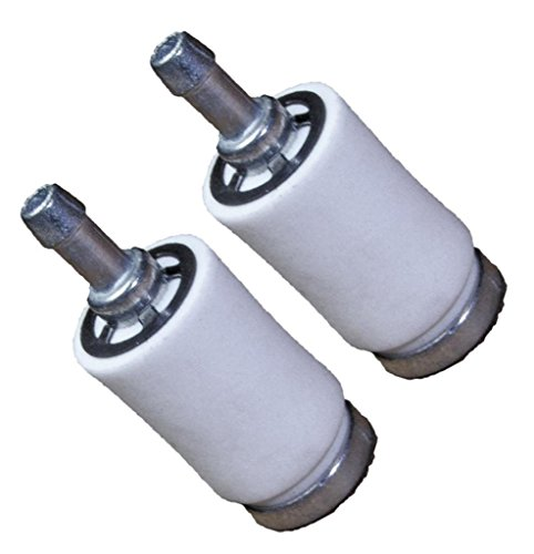 Homelite Ryobi Equipment (2 Pack) Replacement 2mm ID Fuel Filter Assembly #...