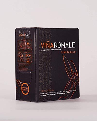 Viña Romale - Bag in Box Vino Tinto Joven Tempranillo - Rubinetto antigoccia 5L