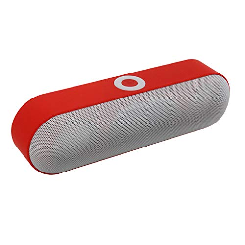 rongweiwang Nby-18 Bluetooth 3.0 Altavoz estéreo portátil inalámbrico o Apoyo TF Tarjeta de Altavoces estéreo Jugador AUX USB