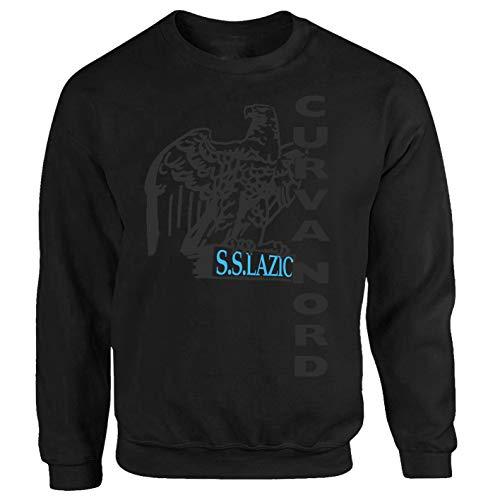 Tex-Ha Curva Nord Lazio schwarz Sweatshirt (S)