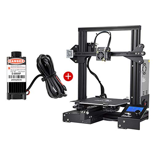 Creality Ender 3 3D Printer & Laser Head Kits