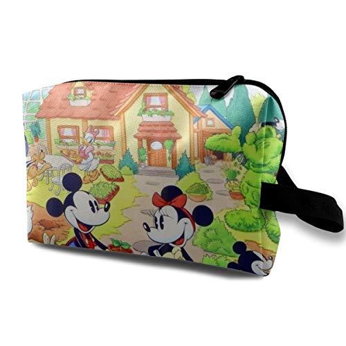 Kulturbeutel, Reisetasche, coole Cartoon-Micky-Maus-Make-up-Tasche für Frauen und Mädchen
