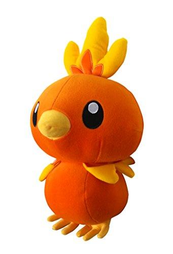 Pokemon XY Stofftier Plüschtier Plüsch Figur: Flemmli / Torchic 40 cm (Banpresto)