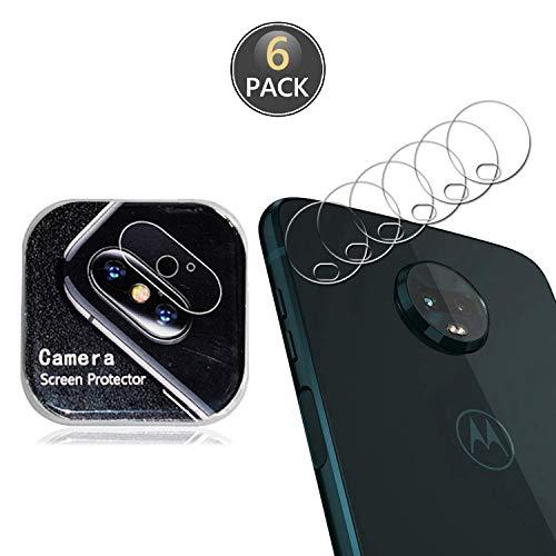 Owbb [6 Pezzi] Protettore Lente Fotocamera Posteriore per Motorola Moto Z3 Play Smartphone Alta trasparenza 7H Durezza Posteriore Fotocamera Lens Film