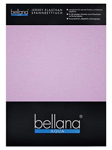 bellana® AQUA Jersey Multifunktions-Spannbettlaken für Wasserbetten in Normal- und Übergrößen, 140-160x200-220 cm in lavendel