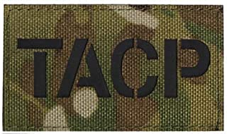 TACP Infrared Reflective Tactical Embroidery Patch Hook & Loop Morale Patch Military Patch for Clothing Accessory Backpack...