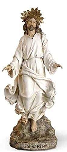 Not Just an Empty Box 12' Risen Christ Jesus Statue Figurine Resurrection