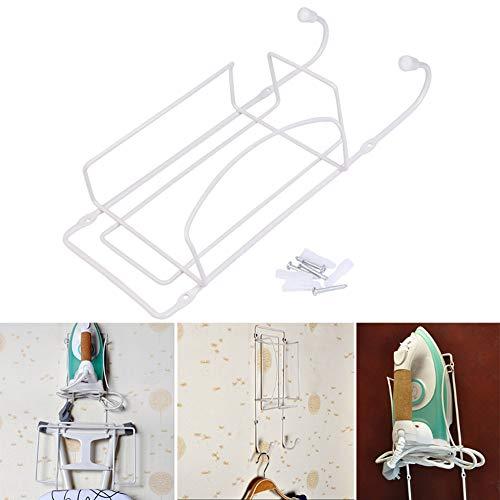 MZY1188 Soporte para Tabla de Planchar montado en la Pared, Soporte para Plancha y Tabla de Planchar | Colgador de Pared, Puerta o Armario