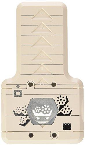 Martha Stewart-Cornice in plastica Punzone Decorativo per Bordi, Motivo: Fiori di Occhielli, per Principianti