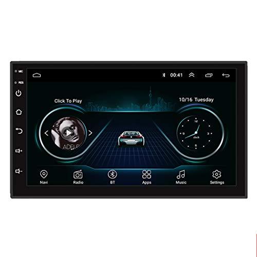 Dr.Lefran 2 DIN Coche Radio GPS, Reproductor Multimedia Android de 7', navegación de Audio Universal para Volkswagen Nissan Hyundai Kia Toyota,1g+32g