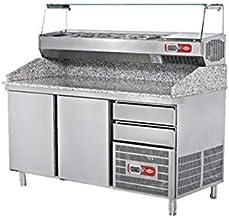 EMPERO EMP.160.80.02 Granit Tablalı Hamur Hazırlık Buzdolabı (2 kapılı)