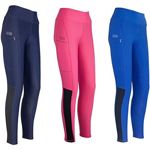 Lazura Mallas de equitación para Mujer 4057052473142, Color Rosa, 40-42