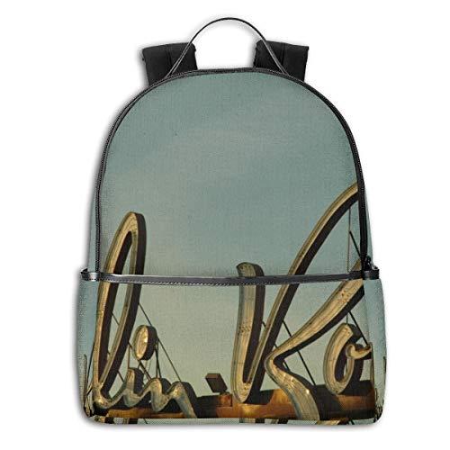 Reizen Laptop Rugzak Daypacks, College School Computer Bag Boekentas voor Vrouwen & Mannen Outdoor Camping Moulin Rouge