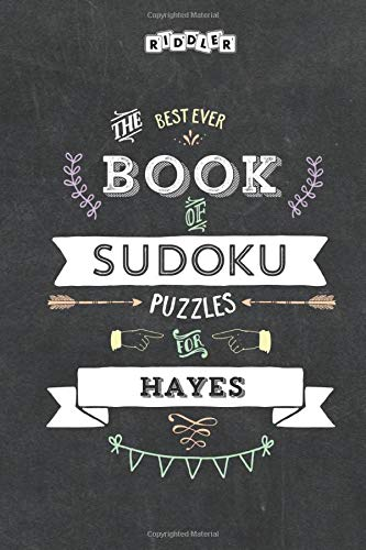 The Best Ever Book of Sudoku Puzzles for Hayes