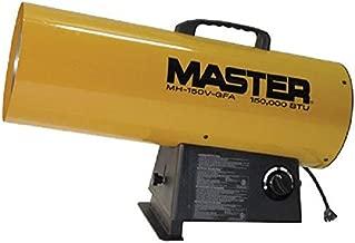 Master MH-150V-GFA-A LP Forced Air Heater, Variable Output, 150,000 BTU