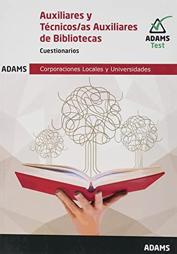 Cuestionarios Auxiliares y Técnicos Auxiliares de Bibliotecas