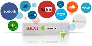 comprar comparacion Akai AD02 - Adaptador Smart TV (HDMI, MicroSD) Color Blanco